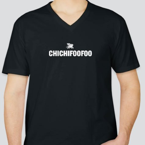 Chef Thierry Delourneaux Chichifoofoo Products Tshirts V Neck