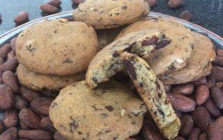 Chef Thierry Delourneaux Chichifoofoo Chocolate Chip Almond Raisin Cookies