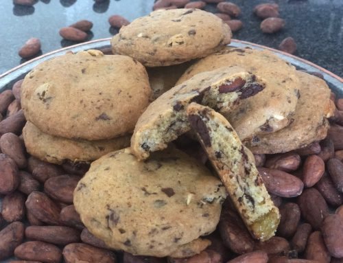 Chocolate Chip Almond Raisin Cookies