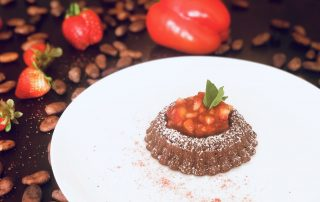 Chef Thierry Delourneaux Chichifoofoo Moelleux Chocolate Cake
