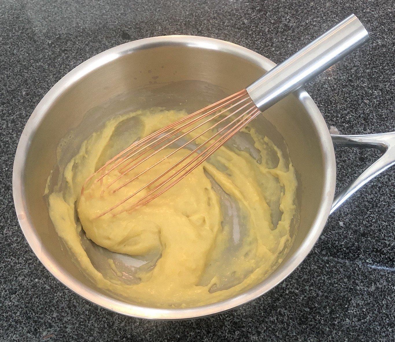 Chef Thierry Delourneaux Chichifoofoo Vanilla Pastry Cream