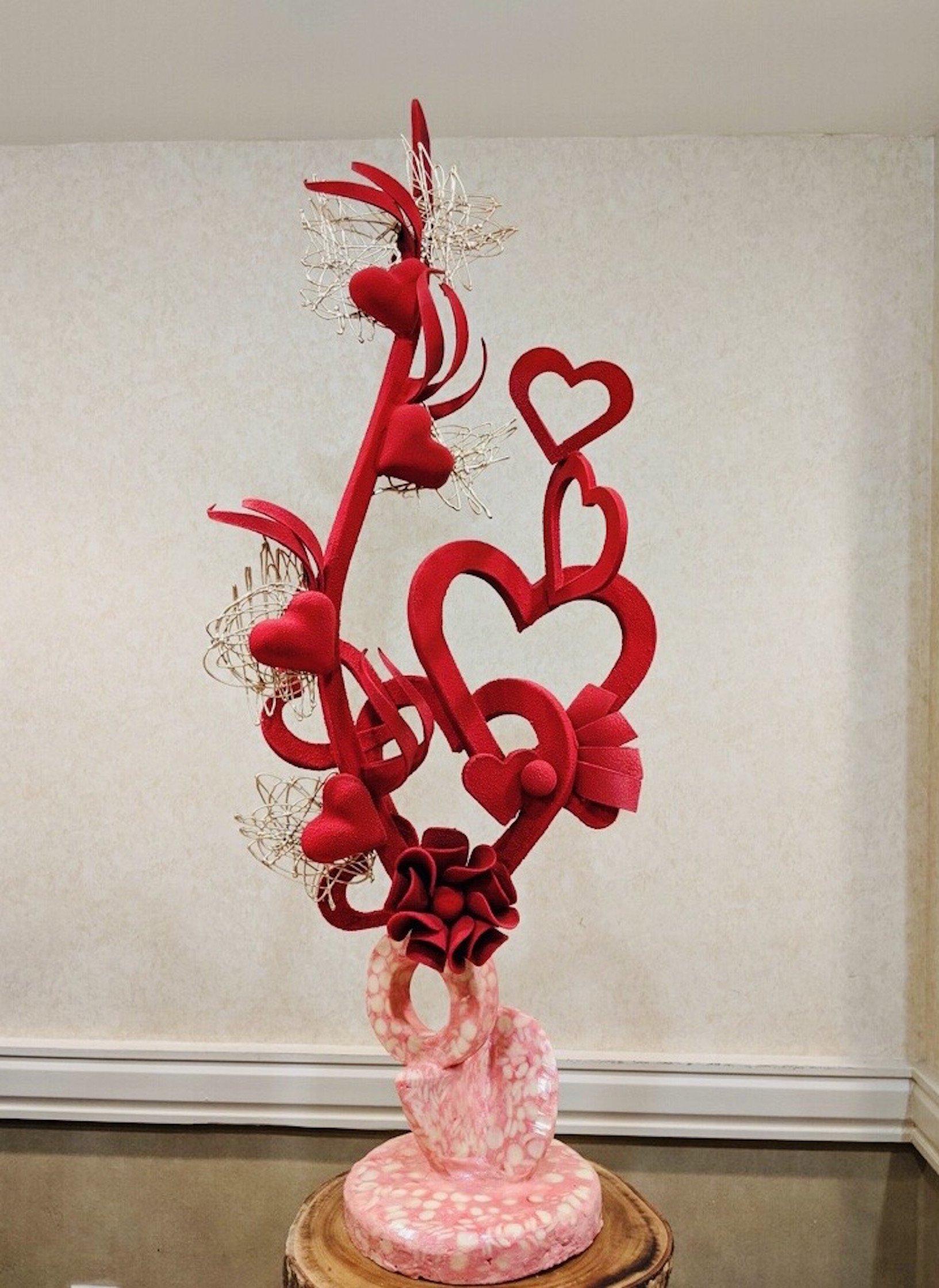 Chef Thierry Delourneaux - Chichifoofoo Valentines Showpiece- Portfolio 049